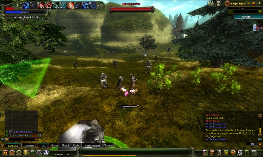 Knight Online Mob Levelleri