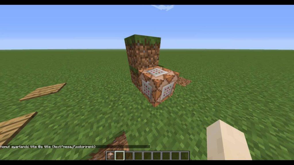 Minecraft Komut Bloğu Kodları Nelerdir