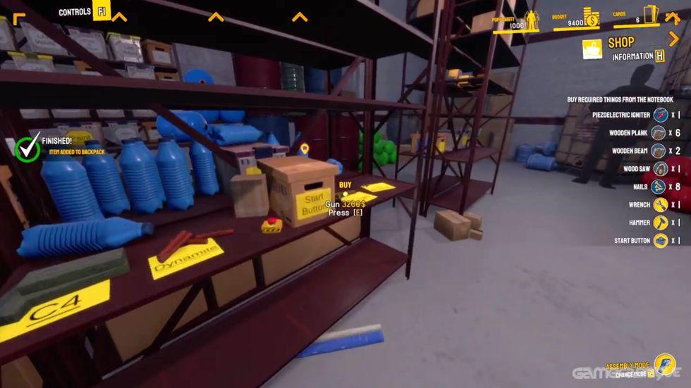 The Game - Crazy Experiments Simulator Sistem Gereksinimleri Kaç GB