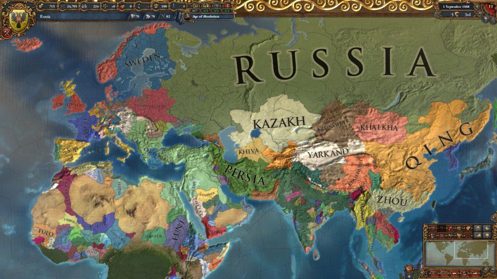 Europa Universalis 4 Sistem Gereksinimleri Kaç GB