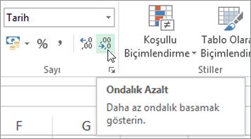 #### Excel Hatası Nedir