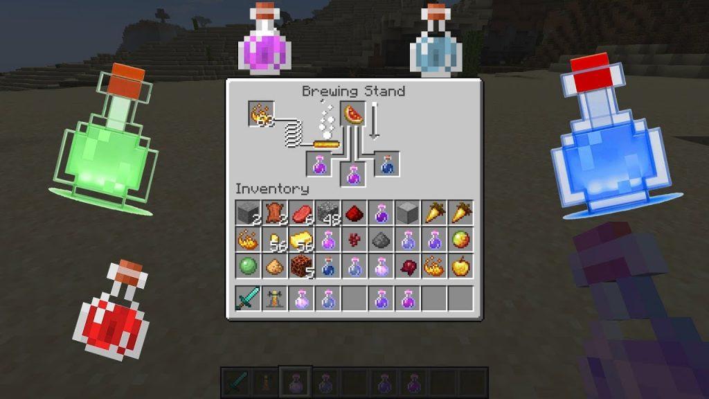 Minecraft İksir Tarifleri